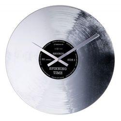 Zegar Ścienny 8117 Silver Record śr. 43 cm Nextime, 8117