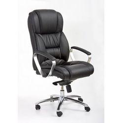 Fotel gabinetowy Foster czarny, 97619