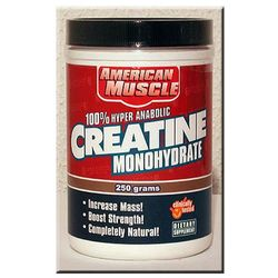 creatine - 250 g, marki American muscle