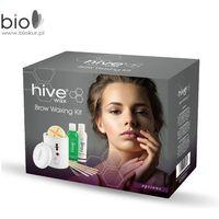 Biosmetics gmbh Zestaw do depilacji brwi hive brow waxing kit