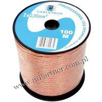 Mpartner Przewód głośnikowy kabel cca 2x2 mm 100m