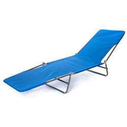 Happy Green Leżak plażowy składany, niebieski - sprawdź w wybranym sklepie