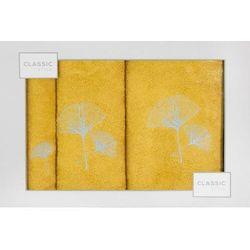 Komplet ręczników kpl/3/biloba 380 musz+sre marki Eurofirany