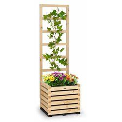 Blumfeldt modu grow 50, zestaw: grządka podwyższona i pergola, 50 x 151 x 45 cm, drewno sosnowe, folia bąbelkowa (4060656438356)