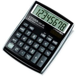 Kalkulator CITIZEN CDC-80BKWB Czarny