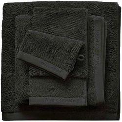 Marc o'polo Gruby ręcznik łazienkowy czarny, elegancki ręcznik bawełniany, , 30 x 50 cm, 50 x 100 cm