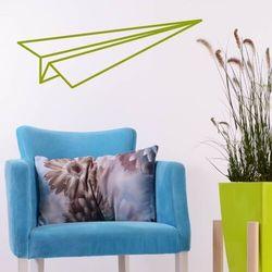 Szablon do malowania samolocik origami 2473 marki Wally - piękno dekoracji
