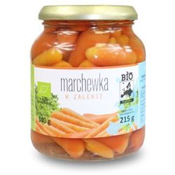 Marchewka w zalewie w słoiku 340 g (215 g) - bio europa od producenta Bio europa (strączkowe, kukurydza w pu