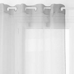 Firana boczna, przezroczysta zasłona ozdobi okno w każdym pomieszczeniu