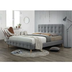 Łóżko Alice 160 Szary, kolor szary