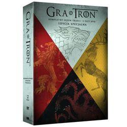 Gra o tron, Sezon 3 (5 DVD) Digipack - produkt z kategorii- Seriale, telenowele, programy TV