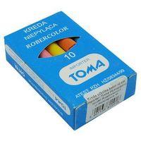 Toma Kreda szkolna  81201/10szt. mix