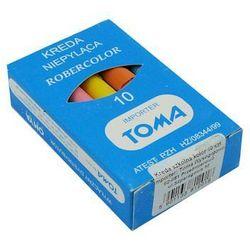 Kreda szkolna Toma 81201/10szt. mix - szczegóły w MaxiBiuro