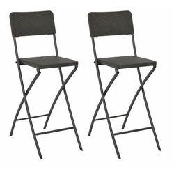 Zestaw składanych krzeseł ogrodowych - Nathan