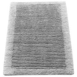 Cawo Dywanik łazienkowy  ręcznie tkany 100 x 60 cm szary (4011638866483)