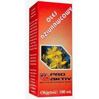 Olej dziurawcowy 100ml Pro Aktiv
