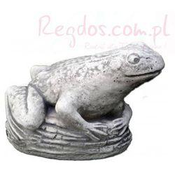 Figura ogrodowa betonowa żaba 10cm z kategorii Dekoracje ogrodowe