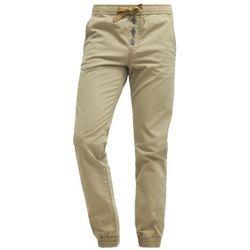 TOM TAILOR DENIM AEDAN Spodnie materiałowe honey camel beige, kolor beżowy, od rozmiaru S