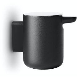 Dozownik ścienny na mydło Menu Bath black, 7710519