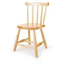 Krzesło dziecięce anna, 330 mm, brzoza marki Aj produkty