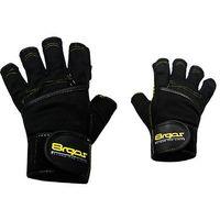 Rękawice kulturystyczne 8REPS DD-107 BeStrong męskie Żółty (rozmiar XL)