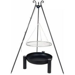 Grill ogrodowy FARMCOOK Ruszt Stal nierdzewna 70 cm + Palenisko PAN 38 80 cm