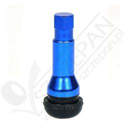 Zawory do opon bezdętkowych TR 414 ATS niebieskie - 1 szt - Chrom - Niebieski, towar z kategorii: Pozostała