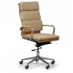 Fotel biurowy Kit, beżowy
