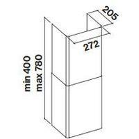 Komin Falmec Tab 60/80 - Biały - Największy wybór - 14 dni na zwrot - Pomoc: +48 13 49 27 557
