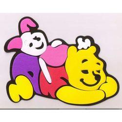 Obrazek - zabawka na ścianę - Kubuś Puchatek i Prosiaczek - mały