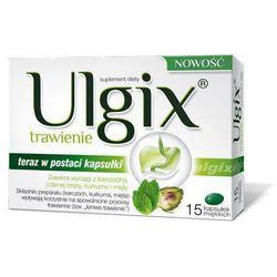 ULGIX TRAWIENIE x 15 kapsułek, produkt z kategorii- Leki na wzdęcia