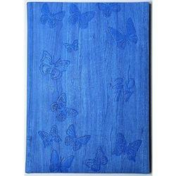 Kalendarz tygodniowy. Motyle. B5. Błękitny