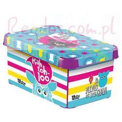 Curver Pojemnik pudełko na zabawki furby new, kategoria: pojemniki na zabawki