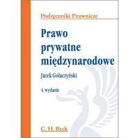 Prawo prywatne międzynarodowe - Zamów teraz bezpośrednio od wydawcy