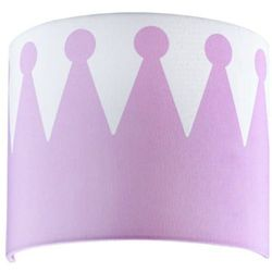 KIDS CONCEPT Lampka ścienna Fairy, kolor różowy - produkt z kategorii- Oświetlenie dla dzieci