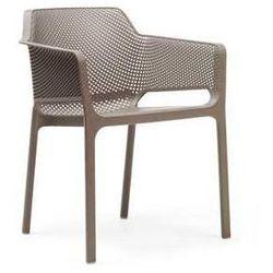 Krzesło ogrodowe do hotelu Net Nardi kolor kawowy, kup u jednego z partnerów