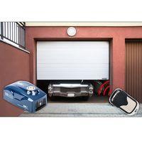 Segmentowa brama garażowa MSW GD2521-8 z napędem