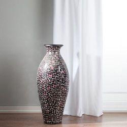 Dekoria  wazon suri bordowo-różowy, 97 cm, 97cm