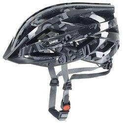 Uvex Kask rowerowy  air wing junior srebrno-czarny, kategoria: ochraniacze i kaski do sportów walki