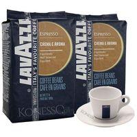 ZESTAW - Kawa Lavazza Crema e Aroma Blue 2x1kg + Filiżanka Lavazza