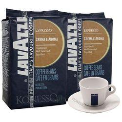 ZESTAW - Kawa Lavazza Crema e Aroma Blue 2x1kg + Filiżanka Lavazza - sprawdź w wybranym sklepie