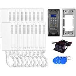 Aco Domofon wielolkatorski cdnp6acc dla 18 lokatorów.