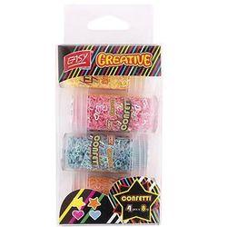 Easy, konfetti, 4 kolory, 8 g