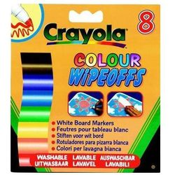 Crayola Markery do białej tablicy - 8 sztuk