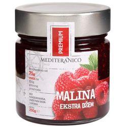 RASPBERRY Extra Jam 250g - Mediteranico, towar z kategorii: Dżemy i konfitury