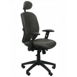 Fotel biurowy gabinetowy kb-912/a/grafit - krzesło obrotowe marki Stema - kb