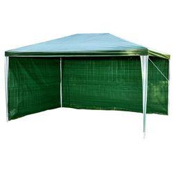 Pawilon ogrodowy 2x3m +2 ścianki namiot handlowy - zielony marki Mks