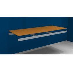 Dodatkowa półka, z trawersami i płytą wiórową, szer. x gł. 2250 (2x1125 mm) x 80