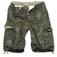 Szorty surplus vintage shorts washed - woodland (07-5596-62) marki Surplus / niemcy
