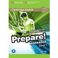 CAMBRIDGE ENGLISH PREPARE! 7 WORKBOOK WITH AUDIO*natychmiastowawysyłkaod3,99, CAMBRIDGE UNIVERSITY PRESS